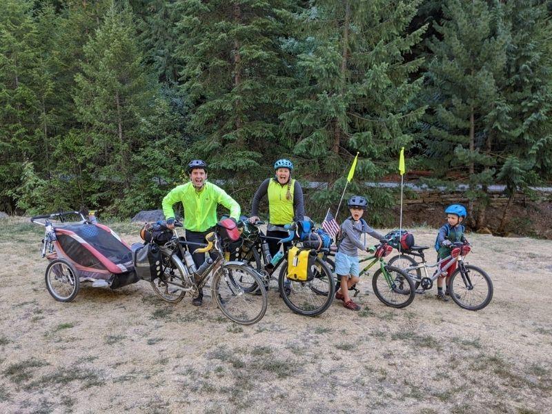 Bike touring with kids