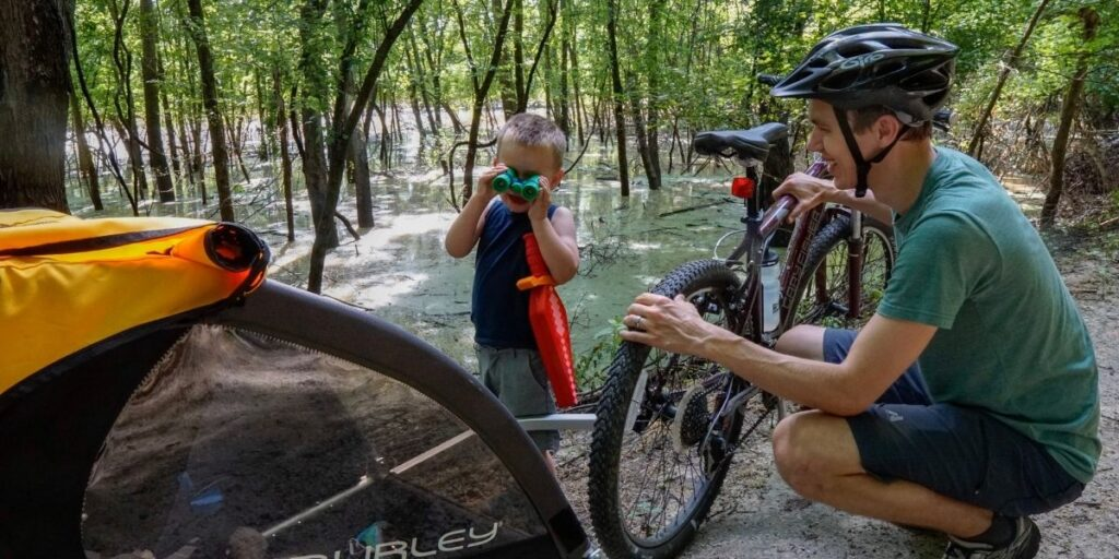 Bike the Katy Trail with Kids
